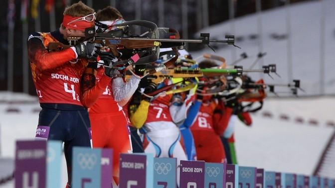 Олимпийская сборная России - 1-е место медального зачета